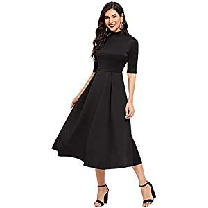 ILLI LONDON Women's A-Line Maxi Dress