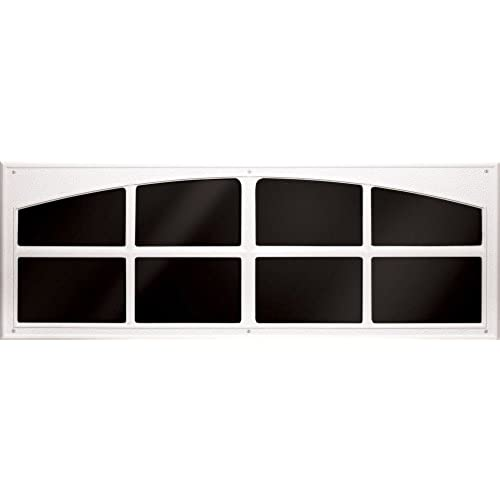 Coach House Accents Simulated Garage Door Window (2 Windows Per Kit)    White   Model AP143199