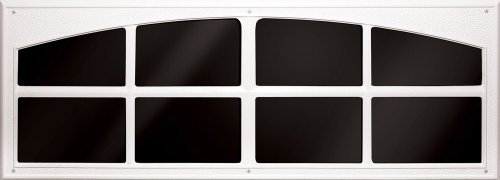 Exterior Window Door Trim - Coach House Accents Simulated Garage Door Window (2 windows per kit) - White - Model AP143199