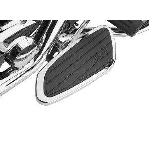 Cobra Swept Front Floorboards for 2002-2009 Honda VTX1300S and 2002-2008 (Cobra Billet Front Floorboards)