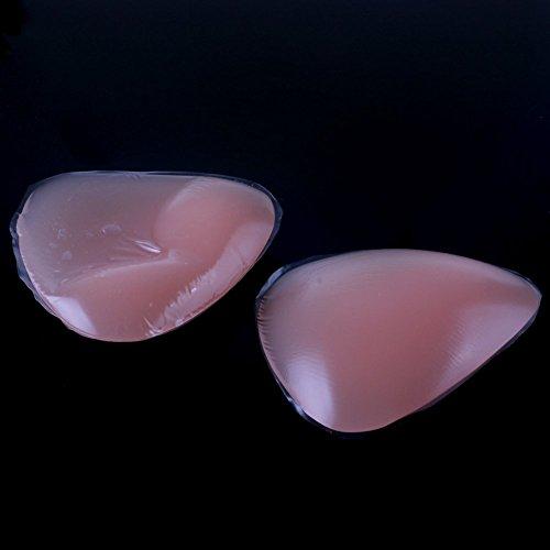 Butterme a c da filetti costumi sposa spessa d Triangolo Nude coppe Abito al per inserti adesivo protesi Adatto per Bikini seno per pollo silicone b reggiseni 3d in di reggiseno rprqwR4