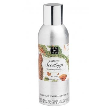 Hillhouse Naturals Fragrance Mist 3 Oz. - Evergreen Seedlings - Whispering Mist