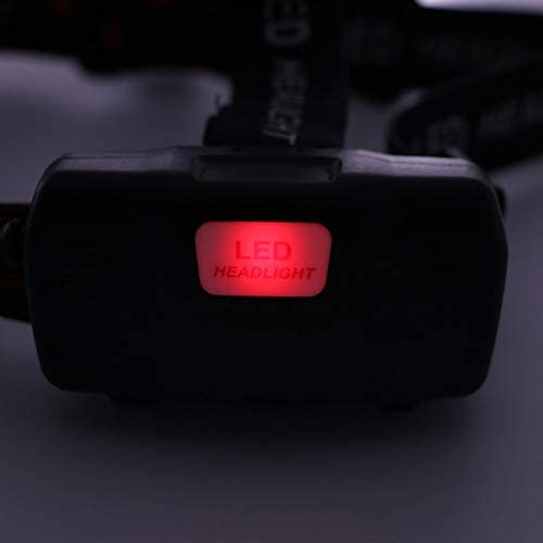 whbage LED Headlamp Super Bright Led Headlight T6 Zoom Led Headlamp Flashlight Torch Head Lights