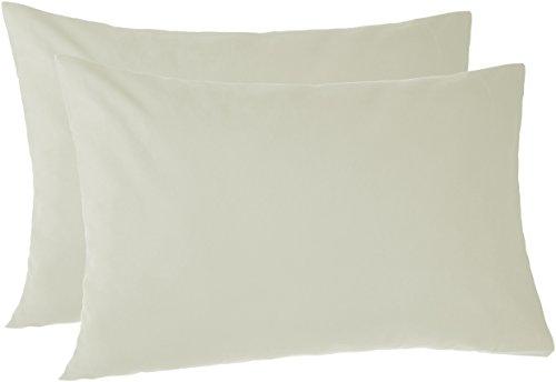 Pinzon 170 Gram Flannel Pillowcases - Standard, Sage - Cotton Flannel Pillowcase