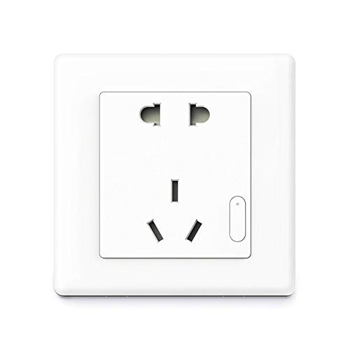 Price comparison product image Laliva Plugs - Aqara Smart Wall Socket Switch Air Conditioning Companion+Temperature and Humidity Sensor+Smart Linkage - (Standard: Universal Plug,  Color: White)