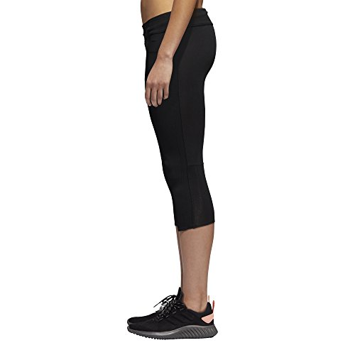 adidas Women's Response Tights, Black/Black, X-Small by adidas (Image #3)