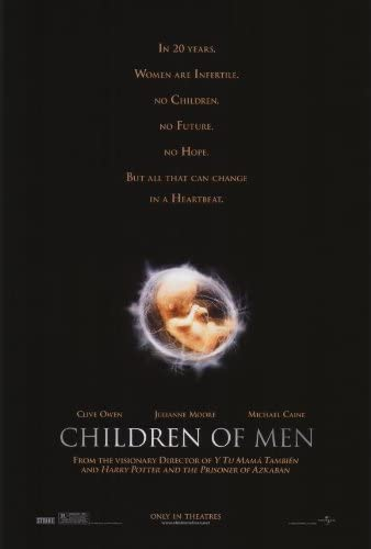 Amazon.com: Children of Men 27 x 40 Movie Poster - Style A by  postersdepeliculas: Lithographic Prints: Posters & Prints
