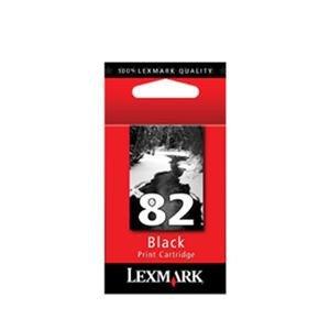 2 X Lexmark 82 Ink Cartridge - Black (18L0032)
