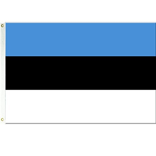 Estonia Flag 3ftx5ft Polyester
