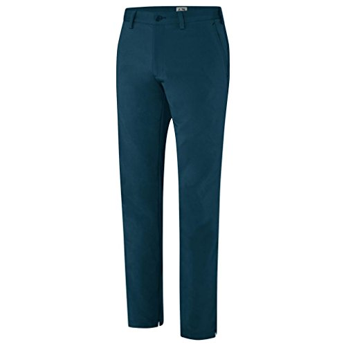2015 Adidas Fall Weight Contrast Bar Tack Thermal Pant Mens Winter Golf Trousers Rich Blue 32x34