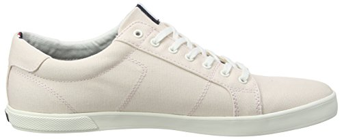 Uomo Long Sneaker Iconic Ginnastica Hilfiger Tommy Argento Peony 642 Lace da Scarpe Silver Basse Iz1AEx