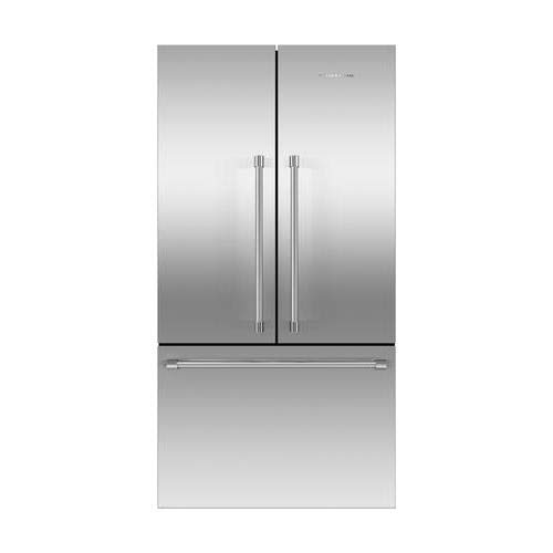 - Fisher Paykel RF201ACJSX1N Professional Series 36 Inch Counter Depth French Door Refrigerator with 20.1 cu. ft. Total Capacity, in Brushed Stainless Steel