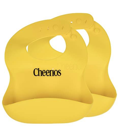 Cheerios Waterproof Silicone Bib (2 pack) Only $6.49