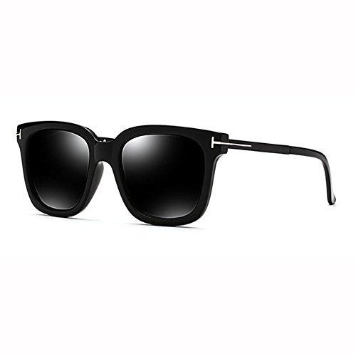 Hembra Beat WX Vidrios Sol Redonda Hipster Caja De Cuadrada Polarizados 2 xin Red Street 2 Net Gafas Cara Retro Color Grande gwqSgv
