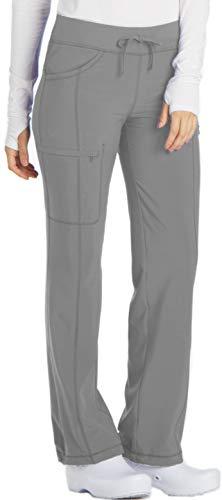 (Cherokee Infinity 1123A Low Rise Drawstring Pant Grey)