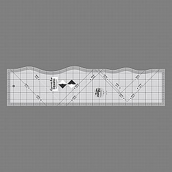 (Creative Grids Curves for Squares Quilt Ruler (CGRKA1))