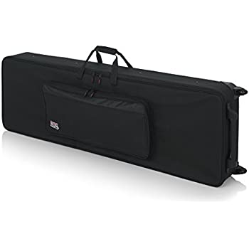 67f65ce188 Gator Cases Lightweight Rolling Keyboard Case for 88 Note Keyboards and  Electric Pianos (GK-88)