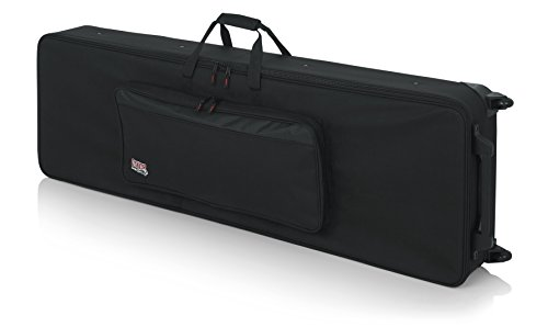 Cheap Gator Cases Lightweight Rolling Keyboard Case for 88 Note Keyboards and Electric Pianos (GK-88)