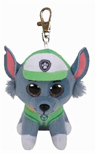 T&Y Ty Paw Patrol ROCKY - dog clip Plush Key Chain
