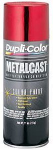 Dupli-Color EMC200007 Red Metal Cast Anodized Color - 11 oz.