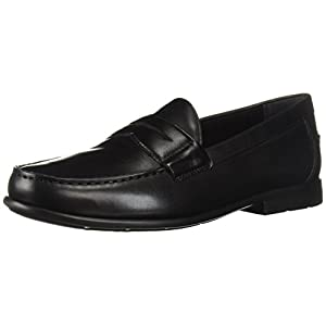 Nunn Bush Men's Drexel Classic Moc Toe Penny Loafer Slip On With KORE Comfort Technology