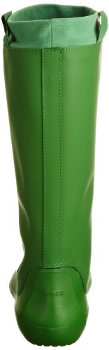 Crocs RainFloe Boot - Botas de agua, color: Negro Verde
