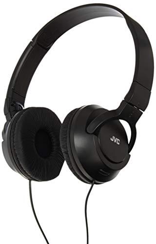 JVC HAS180B The Amazing On-Ear Audífonos, Black