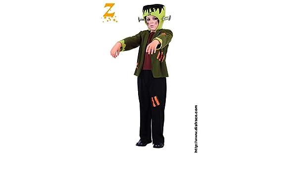 Disfraz Frankenstein Niño T. 7-9: Amazon.es: Productos para mascotas
