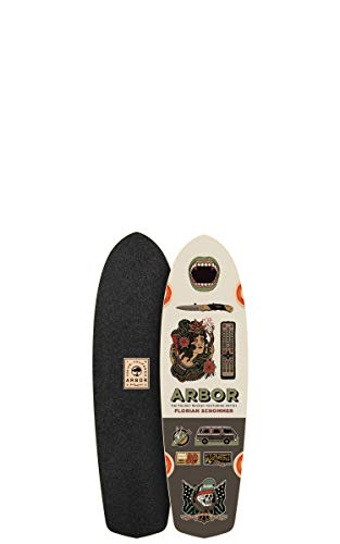Fireball Arbor x Supply Co. Longboard Skateboards (Various Models) (Pocket Rocket - Artist (27