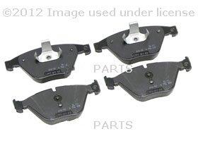E66 Brake Pad (BMW Genuine Front Brake Pads for E60 5 Series - 525i M54 Auto Transmission SEDAN (2002 - 2005), 525xi 530xi 545i 550i 535i 535xi SEDAN (2002 - 2008), E61 5 Series - 530xi 535xi TOURING (2004 - 2008), E65 7 Series - 745i 750i 760i SEDAN (2000 - 2008), 745Li 750Li 760Li SEDAN (2000 - 2008))