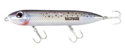 (Heddon Saltwater Super Spook Lure (Speckled Trout, 5-Inch))