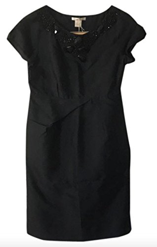 XS Gold Hawk Silk Black Onyx dress 1083