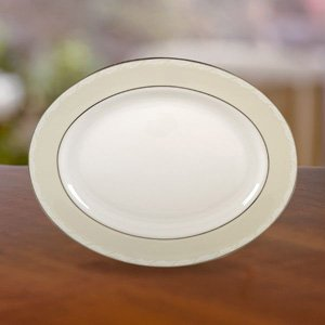 Faith Oval Platter by Lenox China by Lenox