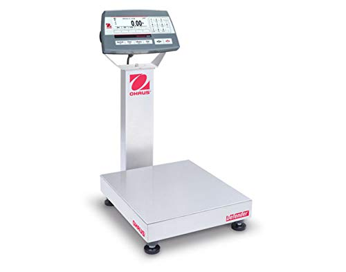 Standard Bench Scales - Ohaus D52P12RQR1 Multifunctional Bench Scale for Standard Industrial Applications, 12.5 kg/0.5 g with Warranty