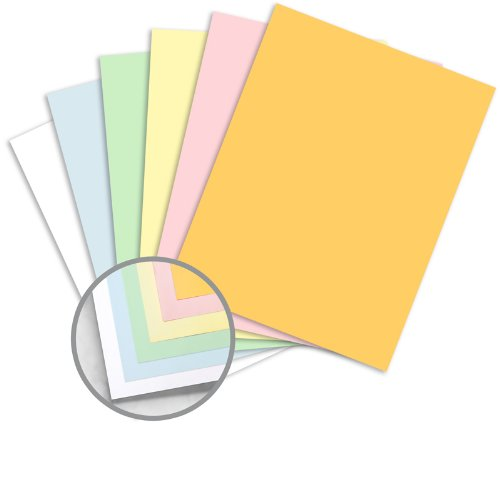 NCR Paper* Brand Superior Multi-Colored Carbonless Paper - 8 1/2 x 11 in 21.5 lb Bond Precollated 6-Part RS Goldenrod, Pink, Canary, Green, Blue, White 504 per - Six Part