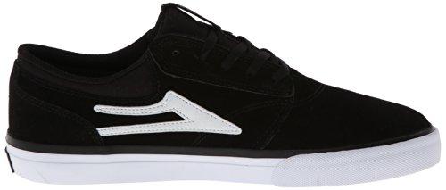 Lakai Heren Griffin Skateschoen Zwart / Wit Suède