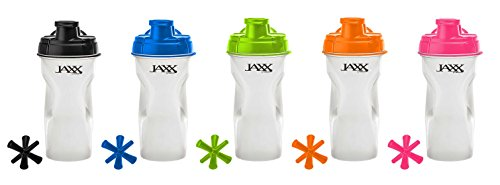 Fit & Fresh Jaxx Shaker Bottle, 28-Ounce, Assorted Colors