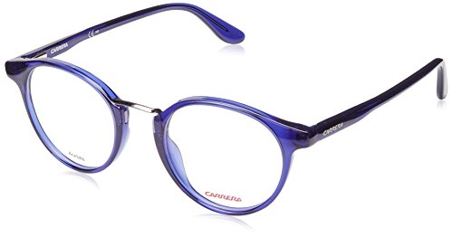 Carrera 6645 Eyeglass Frames CA6645-0PG3-4721 - Blue Frame Lens Diameter 47mm Distance Between