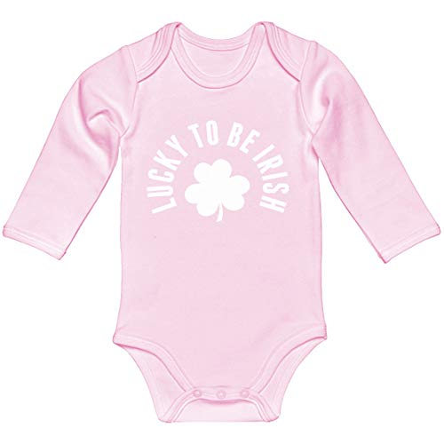 Indica Plateau Baby Romper Lucky to be Irish
