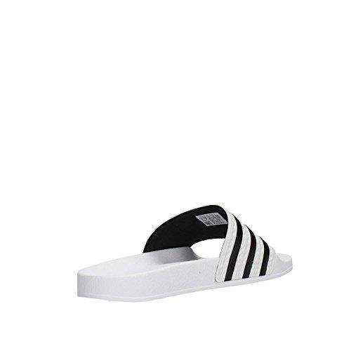 Unisexe Plage Des Adilette Blanc Chaussures Piscine Et Adultes Adidas EwqIZ5FF
