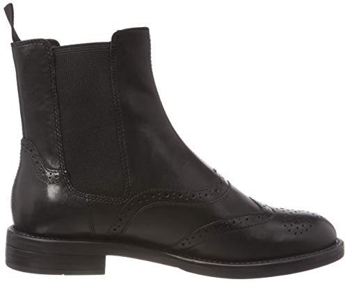 Vagabond 20 Amina Black Boots Chelsea Femme Noir 1Uqfaw1