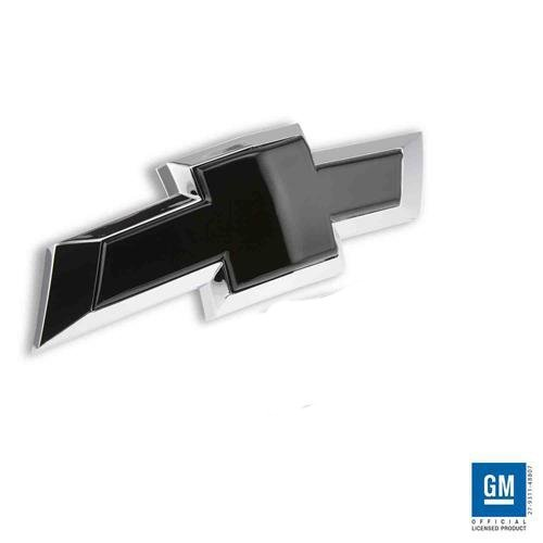 Billet Bowtie Rear Tailgate Emblem 2016-2017 Chevy Silverado 1500 (Black) SL283RB (Bow Tie Black Billet)