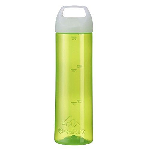 Quechua-Aluminum-Water-Bottle-Wide-Aperture-9-inch-Green