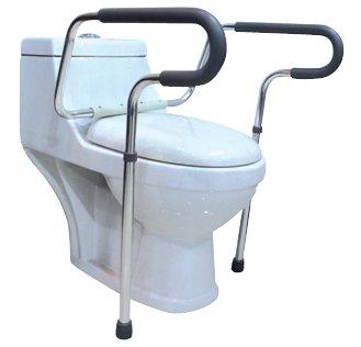 Toilet Support Frame   Bathroom Safety Frame For Elderly, Handicap And  Disabled   Adjustable