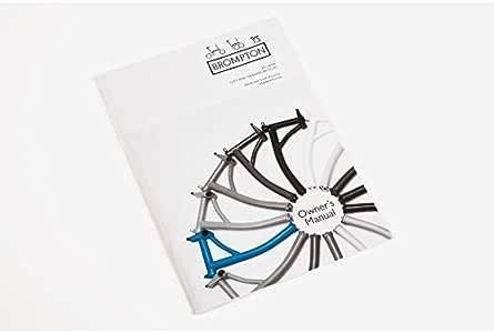 Brompton Manual Del Propietario Bicicleta Plegable - Inglés ...