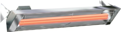 Infratech 21-2300 61-1/4-Inch 240V Dual Element Infrared Heater With Dual Heating Element