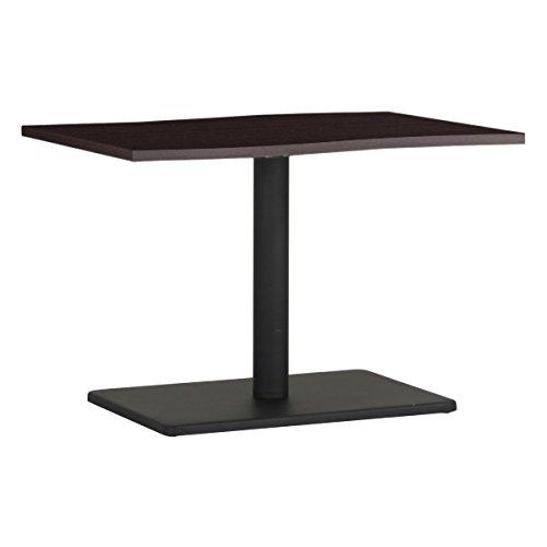 arne カフェテーブル 幅90 奥行60 高さ60 日本製 木製 テーブル ハイテーブル 机 デザインテーブル River9060H DBR×BK B077Z5K8RX 高さ:60cm/天板サイズ:90×60|DBR×BK DBR×BK 高さ:60cm/天板サイズ:90×60