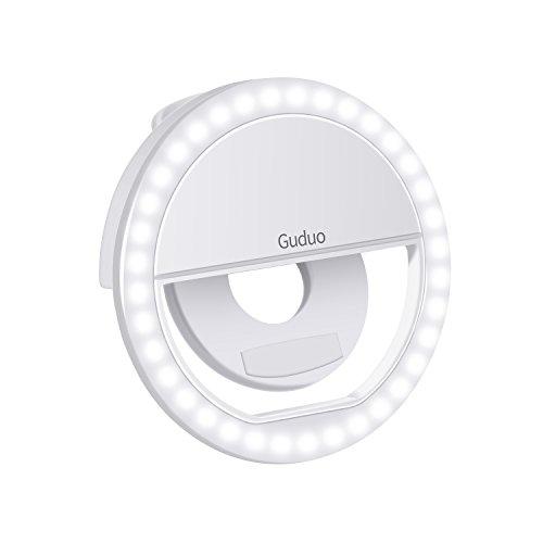 다른 색상으로 Usb Selfie Led 링 빛 Guduo 테이블 책상 램프 아이폰 4s / 5 / 5s / 6 / 6s / 7 / 7s / 8에 대 한 유연한 금속 스탠드 휴대 전화 그림 비드/Guduo Table Desk Lamp with Usb Selfie Led Ring Light in Different Colors Flexible Met...