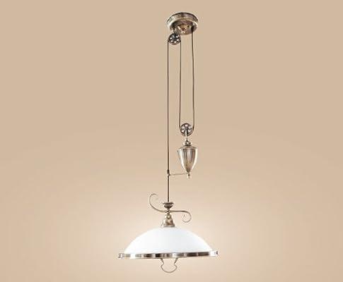 Preciosa Lámpara de Techo Colgante de Altura Regulable ...