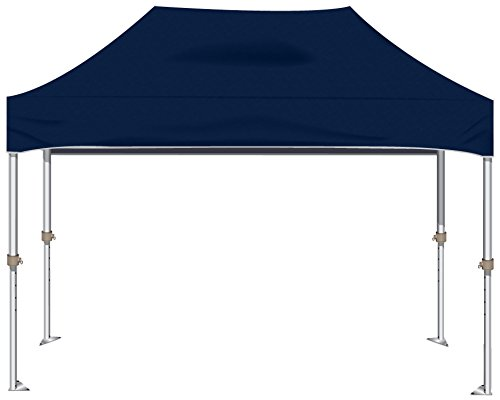 KD Kanopy XTF150NB XTF Aluminum Frame Indoor/Outdoor Portable Canopy, 10 by 15-Feet, Navy Blue For Sale